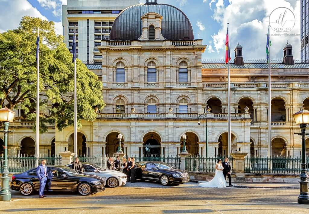 Old Parliament House milimo Brisbane limo Car Hire Transfers