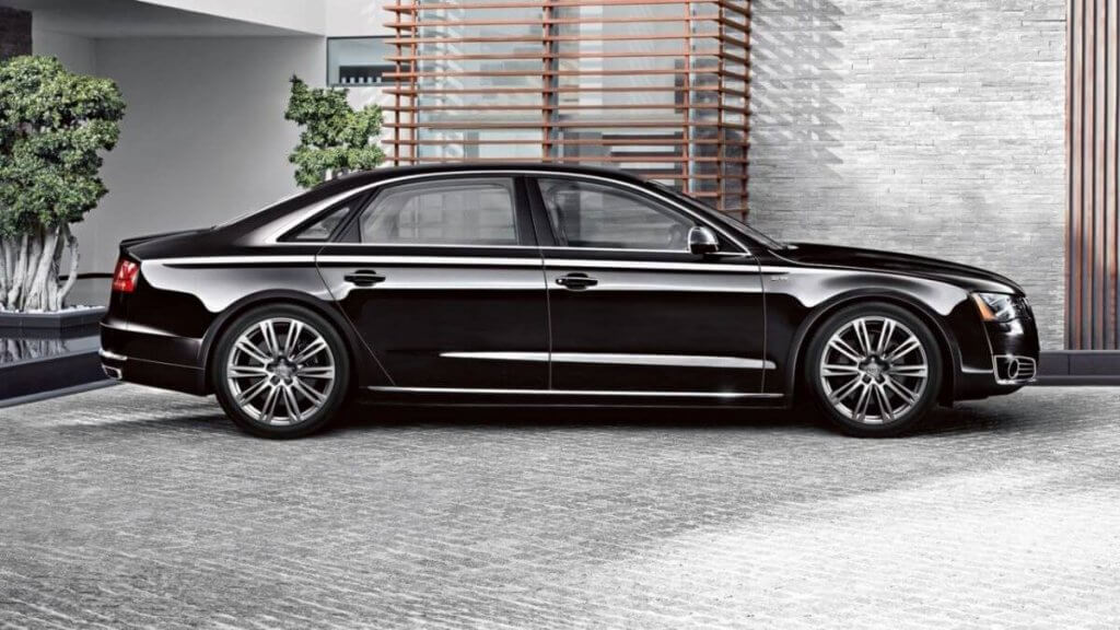 Audi A8L milimo Brisbane limo Car Hire Transfers