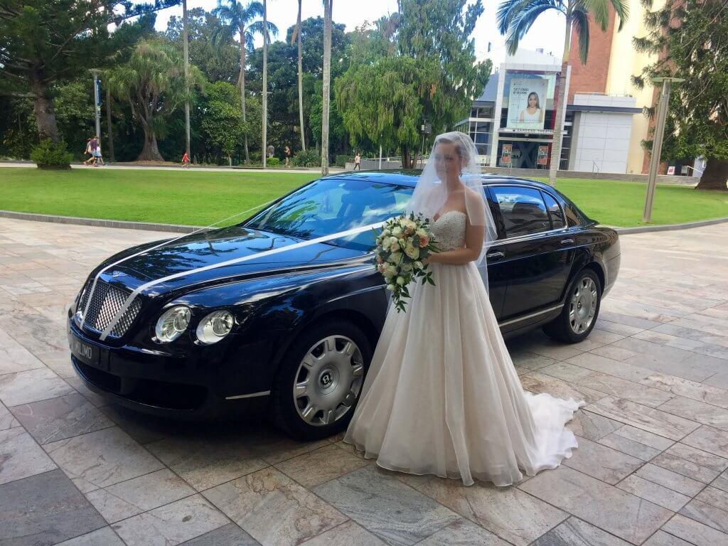 Bentley Wedding milimo Brisbane limo Car Hire Transfers