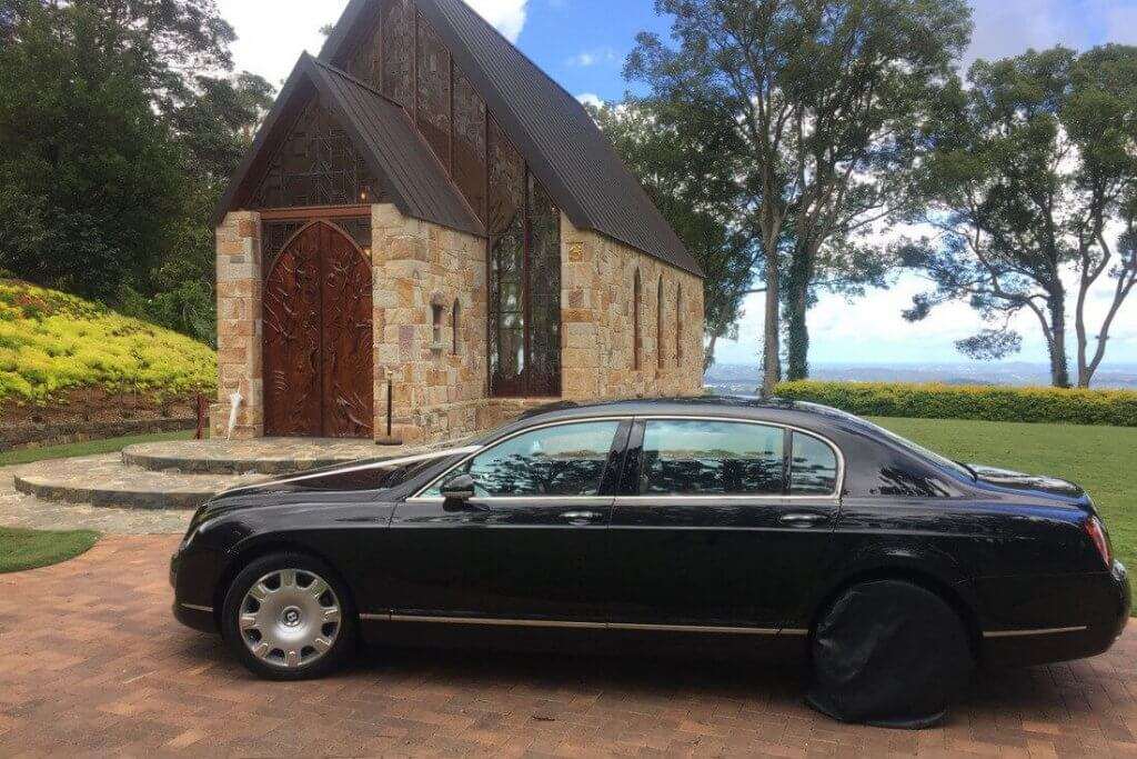 Montville Chapel milimo Brisbane limo Car Hire Transfers