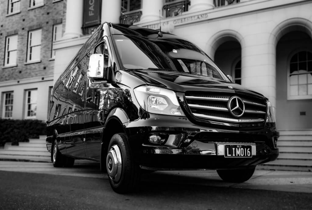 Mercedes Luxury VIP Sprinter Black Black